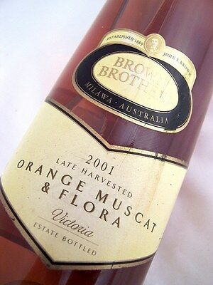 2001 BROWN BROTHERS Orange Muscat & Flora Isle of Wine
