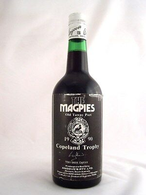 1990 circa NV ANGOVES The Magpies Copeland Trophy Port A Isle of Wine