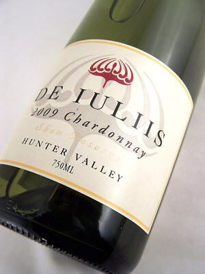 2009 DE IULIIS Show Reserve Hunter Chardonnay Isle of Wine