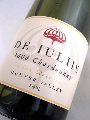 2008 DE IULIIS Show Reserve Hunter Chardonnay Isle of Wine