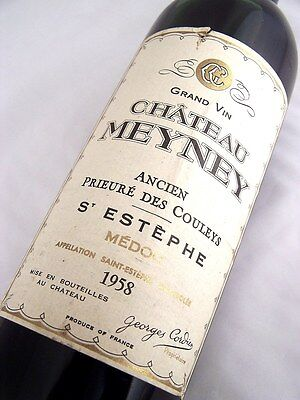 1958 CHATEAU MEYNEY Cru Bourgeois Exceptionnel Red Bordeaux A Isle of Wine