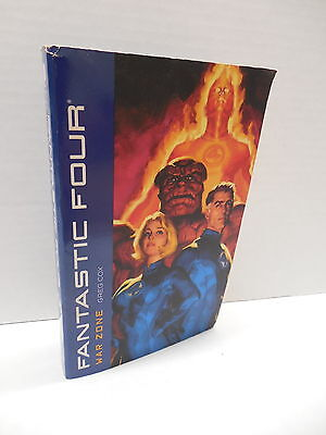 Fantastic Four Novel War Zone Greg Cox Book Human Torch Thing Sue Storm