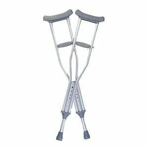 Guardian Quick-Fit Child Adjustable Auxiliary Crutches