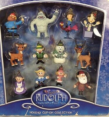 Rudolph and the Island of Misfit Toys Christmas Clip On Collection 12 Piece 2002