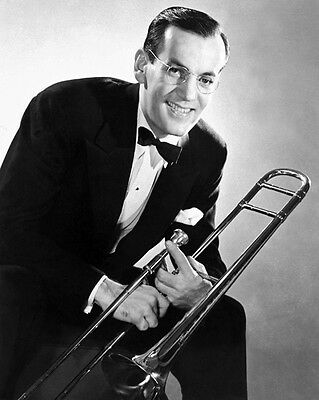 Jazz Bandleader GLENN MILLER Glossy 8x10 Photo Big Band Poster Music Print