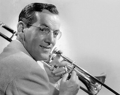 1942 Jazz Bandleader GLENN MILLER Glossy 8x10 Photo Big Band Poster Music Print