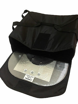 Replacement Pizza Bag & inlet Tray Only for Heated Delivery Bag System (NO DISK)