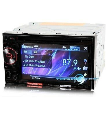 "Pioneer Avh-P1400Dvd 5.8"" Touchscreen Dvd Wma Pandora Car Stereo Front Usb Radio"