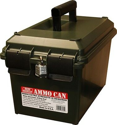 MTM Ammo Can - Bulk Dry Storage Box - AC11 Forest Green - New