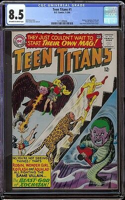 Teen Titans # 1 CGC 8.5 OW/W (DC, 1966) 1st Teen Titans in own series