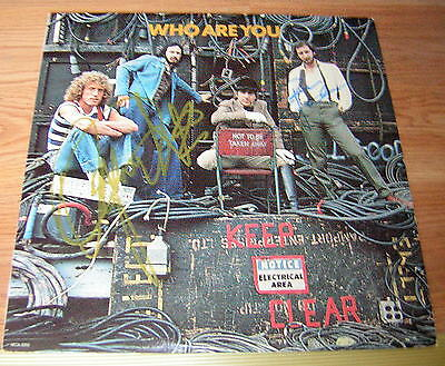 The Who Signed Who Are You Roger Daltry Pete Townshend
