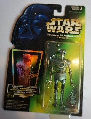 2-1B Medical Droid 1996 Power of the Force POTF Star Wars TRI LOGO Rare!