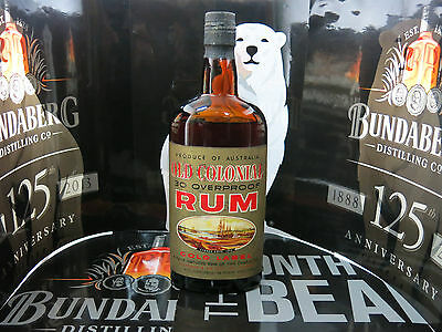 Bundaberg Rum 30 O.P / Old Colonial by Tallerman & Co. Rare National Treasure #5