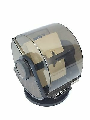 Vintage Rolodex SW-24C Rotary Swivel Card File Cards and Dividers USA A-Z #2028