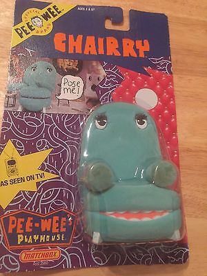 Pee Wee Herman Play house matchbox Chairry Chair Collectible
