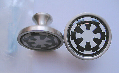 Star Wars Imperial Cabinet Knobs, Imperial Star Wars Logo Knobs, Imperial Knobs