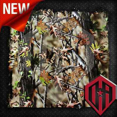 Hydrographic Water Transfer Hydro Dipping Film Dip Tree Leaf Camo Camouflage