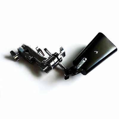 """6"""" Cow Bell and Drum Kit L Arm Accessory Mounting Clamp Package DP Percussion"""