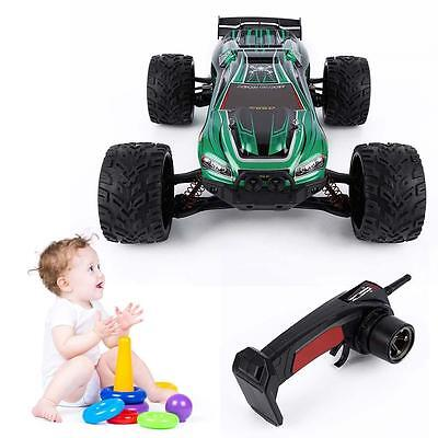 Interesting 2WD Off Road Remote Control Brush Truck for GPTOYS S912 RC Green T3A