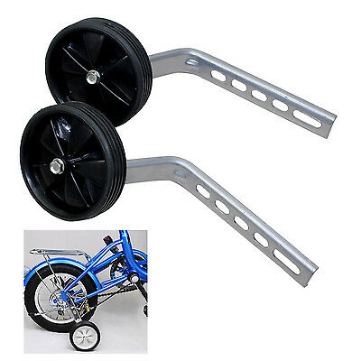 "Universal 12- 20"" Kids Bicycle Stabilisers Child Cycling Bike Training Wheels"