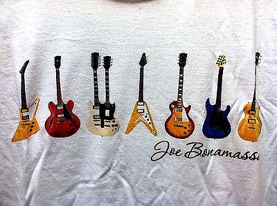 Joe Bonamassa With 7 Guitars Design Flying V Large Shirt