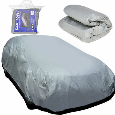 Universal Large Size L Full Car Cover UV Protection Waterproof Breathable UK New