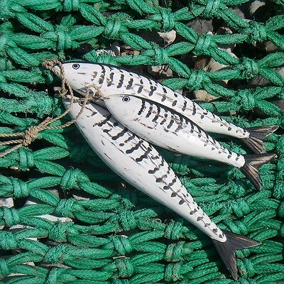 Hand Carved Mackerel Fish by Archipelago