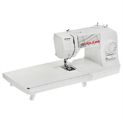 Toyota Super Jeans 15 Sewing Machine White + Free extension table