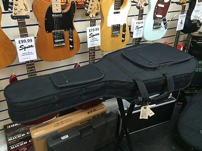 Hard, Material Covered Case For Warlock Electric Guitar - Also Fits 335 & Casino