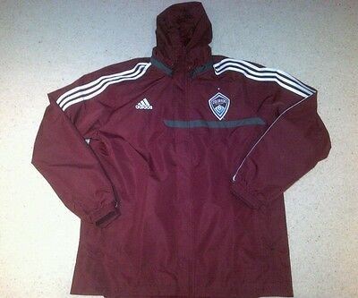 Colorado Rapids US Soccer Rain Jacket by Adidas - Size XL - Brand New