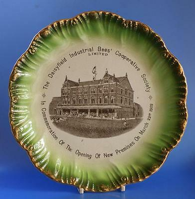 Co op Cooperative Wholesale Society CWS Advertising Plate Daisyfield Blackburn
