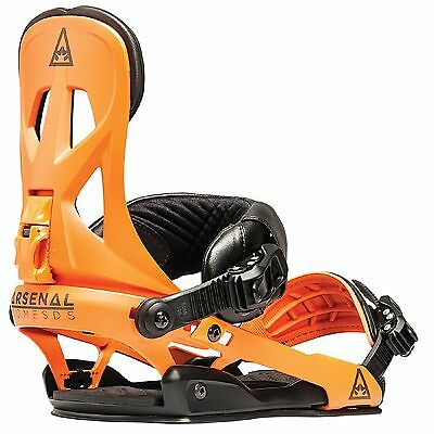 New 2016 Rome Arsenal Bindings Orange Size S/M