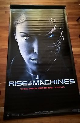 Terminator 2 Rise of the Machine Vinyl Banner Theatre Poster