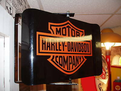 Classic Motorcycle 50S Era Spinning Wall Mount Ad Sign