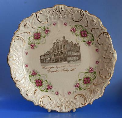 Co op Cooperative Wholesale Society CWS Advertising Plate Warrington