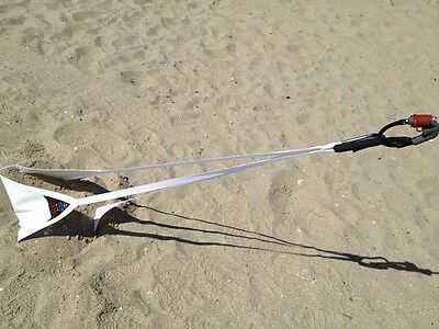 PKS Kiteboarding Self Launch Sand Anchor with carabiner