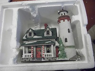 """Heritage Village Collection New England Village Series """"Craggy Cove Lighthouse"""""""
