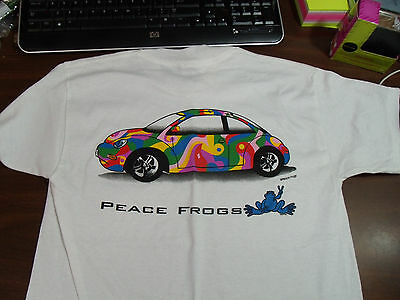 Peace Frogs Vw Bug Youth Large(14-16)