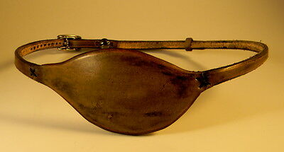 EXQUISITE Superb Comfort High-End Quality Handmade Leather Eye Patch - RIGHT Eye