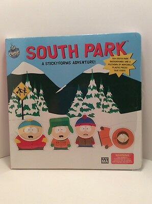 South Park Sticky Forms Hardcover Book Comedy Central New Sealed