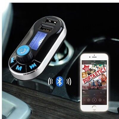 Bluetooth Handsfree Wireless Car Kit Mp3 Player  Speaker Usb Charger Transmitter