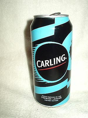 Carling Football Premier League 2016 440ml Can British Limited Edition EMPTY