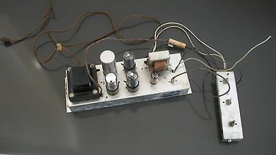 Vintage Magnavox One Channel Mono Tube Amplifier Assembly 147 AA