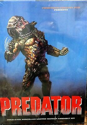 PREDATOR Cold-Cast Porcelain Limited Edition Assembly Kit New