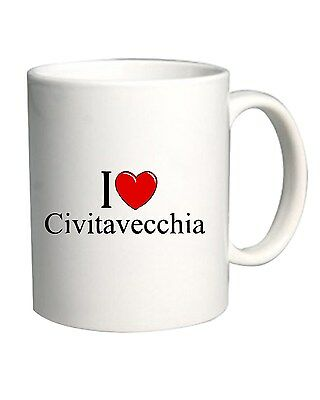 Tazza 11oz TLOVE0033 i love heart civitavecchia