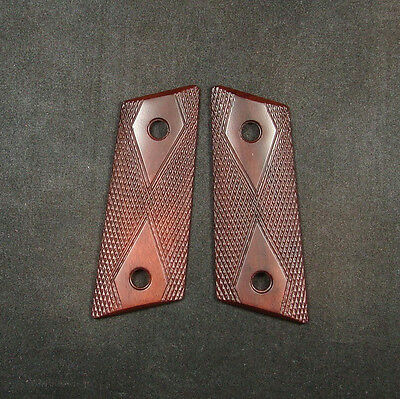 New Rosewood Checkered Grips For CZ 2075 RAMI #259