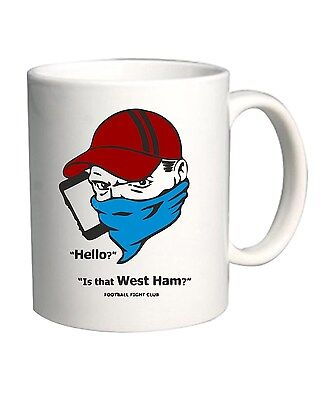 Tazza 11oz WC0351 Football Fight Club - Hello is that West Ham