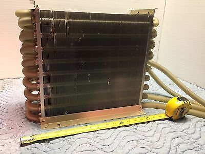 "LASER WATER CHILLER COOLER BATH HEAT EXCHANGER 14"" x14"" all aluminum"