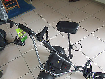 Electric Golf Buggy Kingcaddy Platinum wheel Suspension, Buy without Battery
