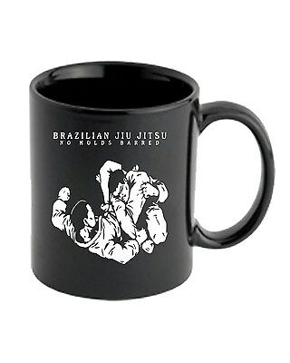 Tazza 11oz TAM0211 brazilian jiu jitsu no holds barred hooded tshirt